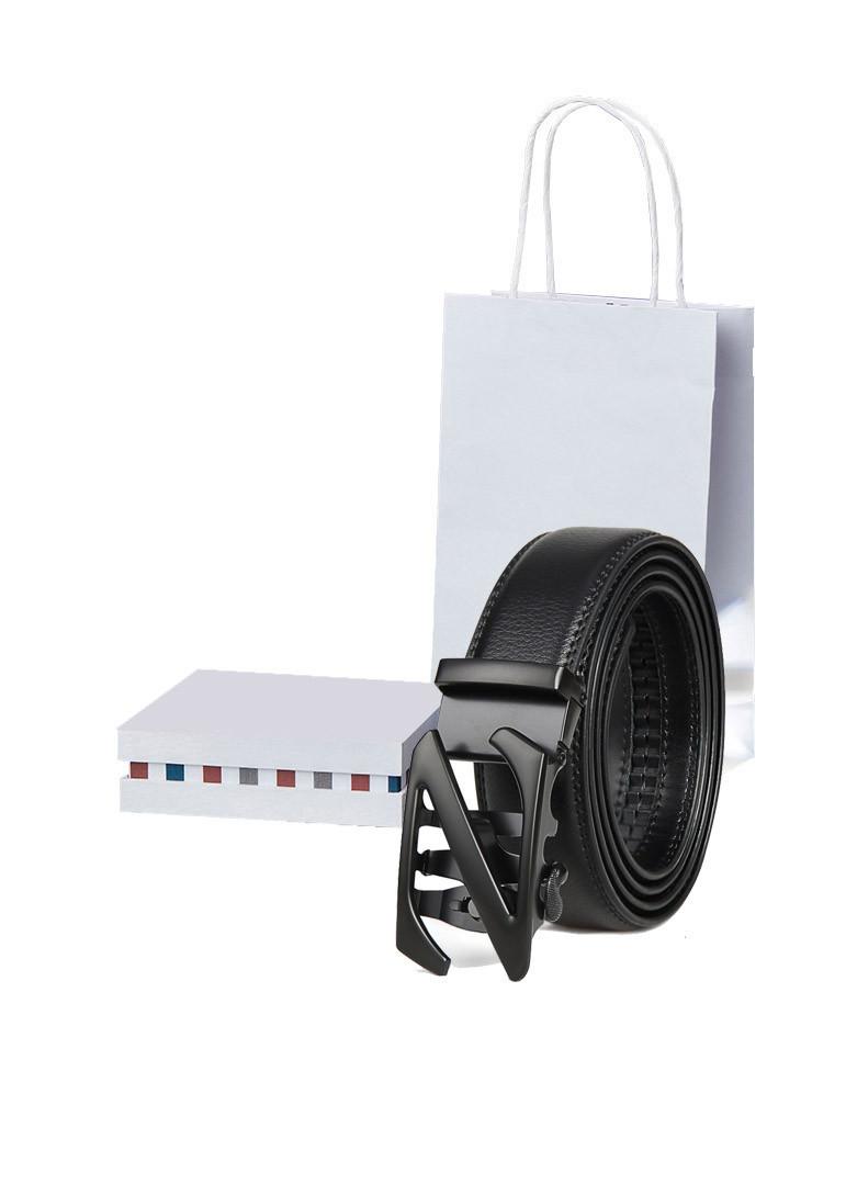 Bộ quà tặng thắt lưng, dây nịt nam khóa tự động có hộp đựng + túi tặng kèm