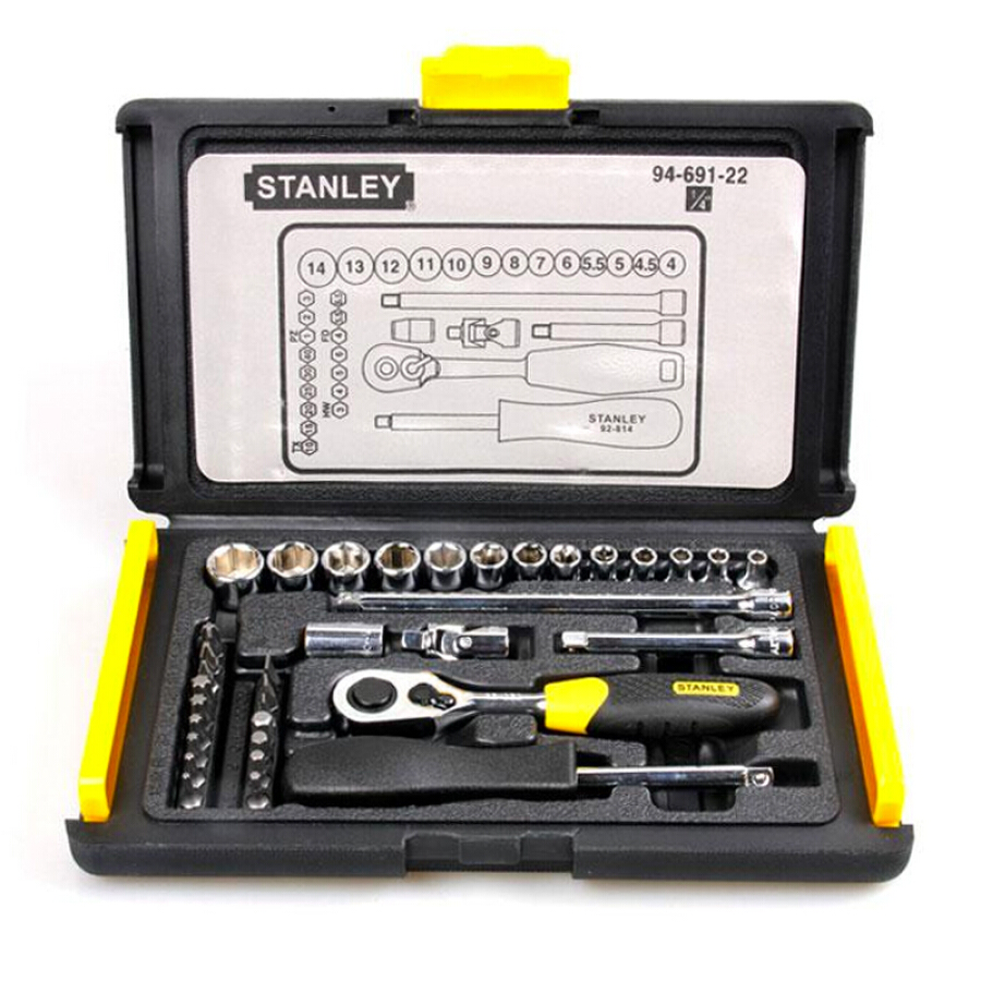 Bộ Tua Vít Stanley Toolbox Set 6.3mm 94-691 - 1181893 , 2839038839522 , 62_4833867 , 859000 , Bo-Tua-Vit-Stanley-Toolbox-Set-6.3mm-94-691-62_4833867 , tiki.vn , Bộ Tua Vít Stanley Toolbox Set 6.3mm 94-691