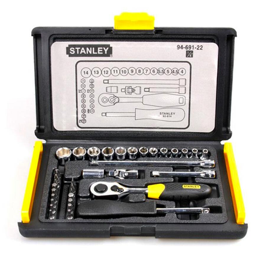Bộ Tua Vít Stanley Toolbox Set 6.3mm 94-691