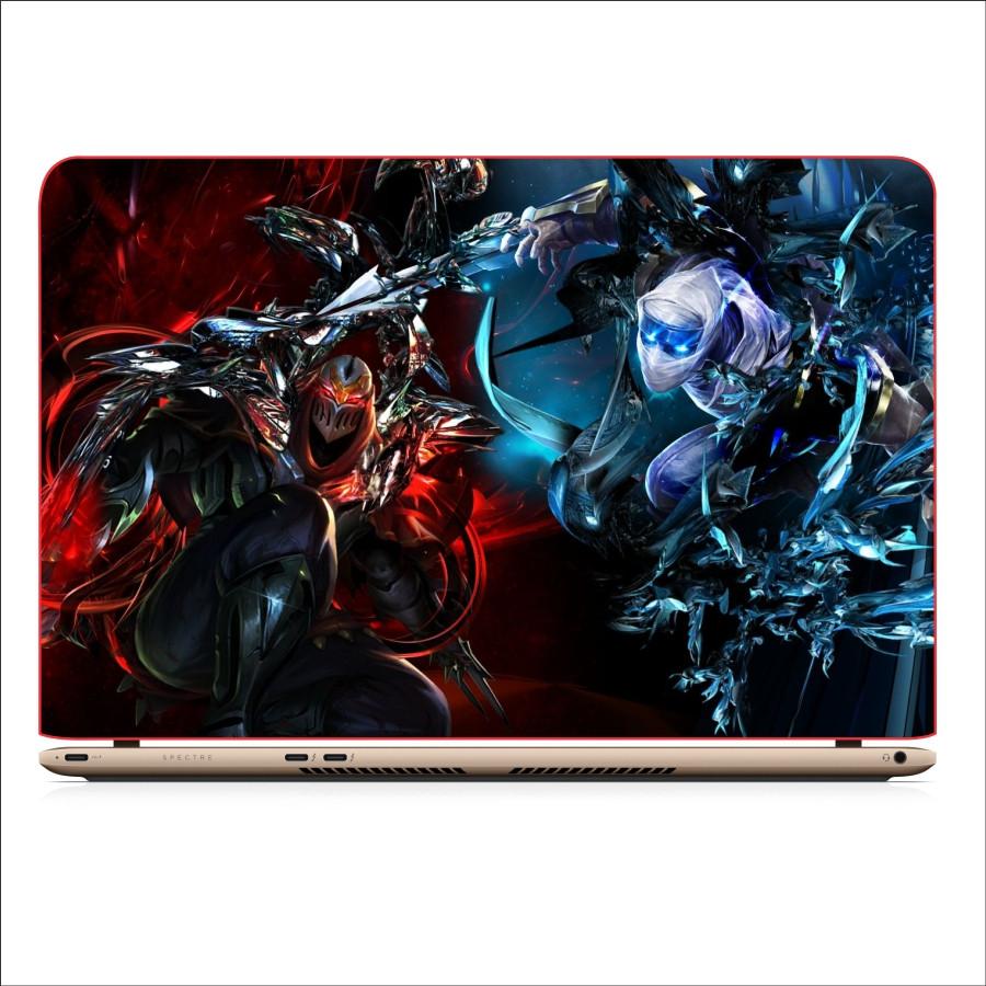 Miếng Dán Skin In Decal Dành Cho Laptop -  Zed LMHT 1