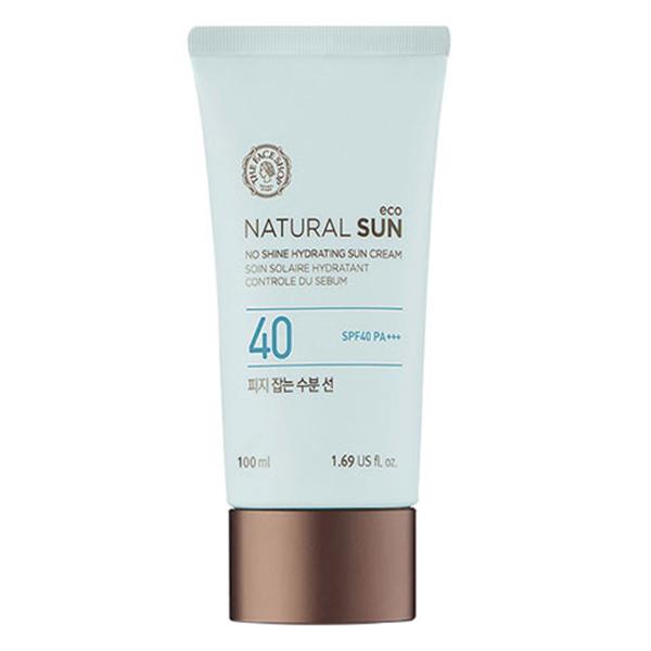 Kem Chống Nắng The Face Shop Natural Sun Eco No Shine Hydrating Sun Cream SPF40 PA+++ 31500207 (100ml) - 891591 , 7143715414489 , 62_1581347 , 889000 , Kem-Chong-Nang-The-Face-Shop-Natural-Sun-Eco-No-Shine-Hydrating-Sun-Cream-SPF40-PA-31500207-100ml-62_1581347 , tiki.vn , Kem Chống Nắng The Face Shop Natural Sun Eco No Shine Hydrating Sun Cream SPF40 PA