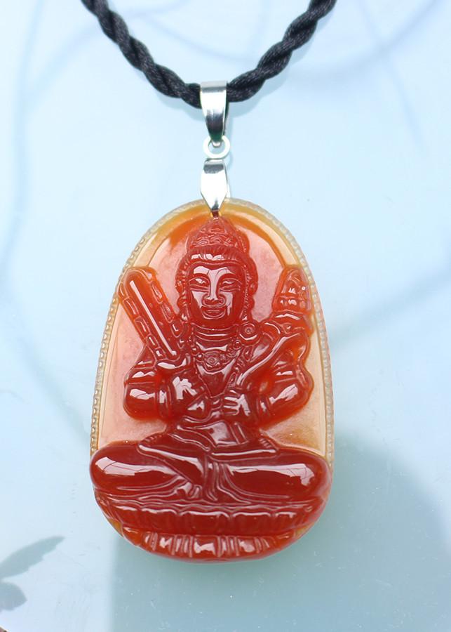 Mặt dây chuyền Phật bản mệnh tuổi Sửu,  Đá Mã não đỏ, Phật Hư Không Tạng Bồ Tát,  Cỡ to,  AKO3 - 18437508 , 5034963729369 , 62_22734329 , 285000 , Mat-day-chuyen-Phat-ban-menh-tuoi-Suu-Da-Ma-nao-do-Phat-Hu-Khong-Tang-Bo-Tat-Co-to-AKO3-62_22734329 , tiki.vn , Mặt dây chuyền Phật bản mệnh tuổi Sửu,  Đá Mã não đỏ, Phật Hư Không Tạng Bồ Tát,  Cỡ to,