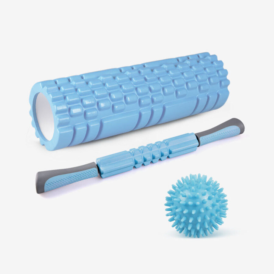 Authentic Yoga column men and women fitness foam axis yoga wheel muscle relaxation massage stick yoga axis fascia three-piece light blue - 1908569 , 9512034981893 , 62_10255752 , 538000 , Authentic-Yoga-column-men-and-women-fitness-foam-axis-yoga-wheel-muscle-relaxation-massage-stick-yoga-axis-fascia-three-piece-light-blue-62_10255752 , tiki.vn , Authentic Yoga column men and women fitn