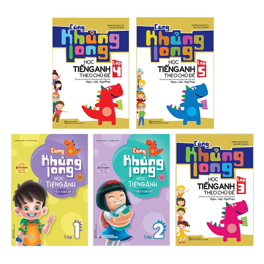 Combo 5 Cuốn Cùng Khủng Long Học Tiếng Anh Theo Chủ Đề - Tái Bản lần 1 (Tặng kèm Sổ Tay Ma Thuật A4 Magic Rainbow... - 4847273 , 8936110984782 , 62_16084436 , 450000 , Combo-5-Cuon-Cung-Khung-Long-Hoc-Tieng-Anh-Theo-Chu-De-Tai-Ban-lan-1-Tang-kem-So-Tay-Ma-Thuat-A4-Magic-Rainbow...-62_16084436 , tiki.vn , Combo 5 Cuốn Cùng Khủng Long Học Tiếng Anh Theo Chủ Đề - Tái Bả