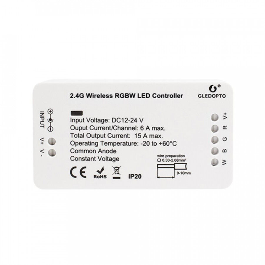 DC12-24V Zigbee Connected RGB+CCT LED Controller Supported Cell Phone App Control/ Voice Control/ Timer Timing Function - 1972845 , 2144598158007 , 62_15214299 , 733000 , DC12-24V-Zigbee-Connected-RGBCCT-LED-Controller-Supported-Cell-Phone-App-Control-Voice-Control-Timer-Timing-Function-62_15214299 , tiki.vn , DC12-24V Zigbee Connected RGB+CCT LED Controller Supported C