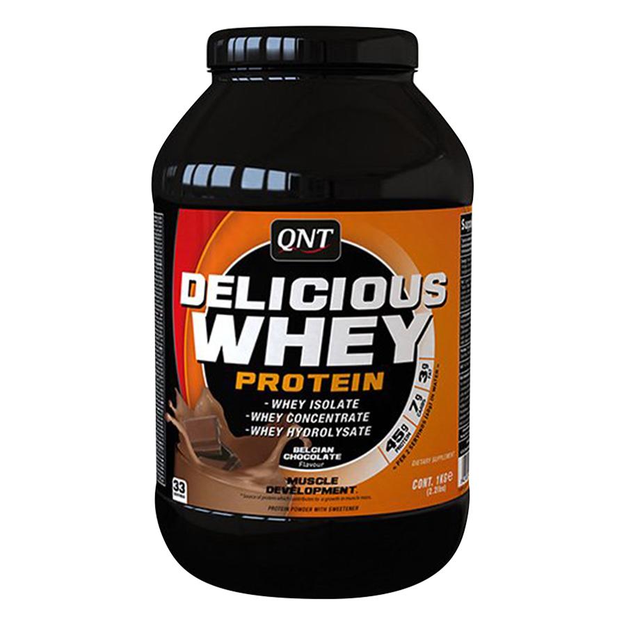 Thực Phẩm Bổ Sung Tăng Cơ Giảm Cân QNT Delicious Whey Protein Vị Chocotate (2.2kg) - 894580 , 5425002402792 , 62_1581051 , 1640000 , Thuc-Pham-Bo-Sung-Tang-Co-Giam-Can-QNT-Delicious-Whey-Protein-Vi-Chocotate-2.2kg-62_1581051 , tiki.vn , Thực Phẩm Bổ Sung Tăng Cơ Giảm Cân QNT Delicious Whey Protein Vị Chocotate (2.2kg)