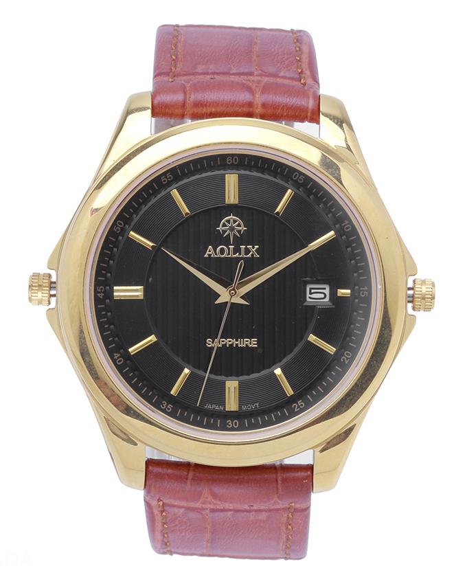 Đồng hồ AOLIX N-9111G nam dây da - 945497 , 5961610340229 , 62_2077513 , 3590000 , Dong-ho-AOLIX-N-9111G-nam-day-da-62_2077513 , tiki.vn , Đồng hồ AOLIX N-9111G nam dây da