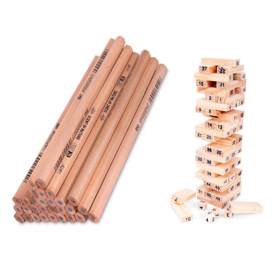 50 Bút Chì Gỗ 2B Kèm Hộp Đựng Cho Bé Thỏa Sức Học Tập tặng đồ chơi rút gỗ 54 thanh - 9611909 , 4238631199244 , 62_19421621 , 150000 , 50-But-Chi-Go-2B-Kem-Hop-Dung-Cho-Be-Thoa-Suc-Hoc-Tap-tang-do-choi-rut-go-54-thanh-62_19421621 , tiki.vn , 50 Bút Chì Gỗ 2B Kèm Hộp Đựng Cho Bé Thỏa Sức Học Tập tặng đồ chơi rút gỗ 54 thanh