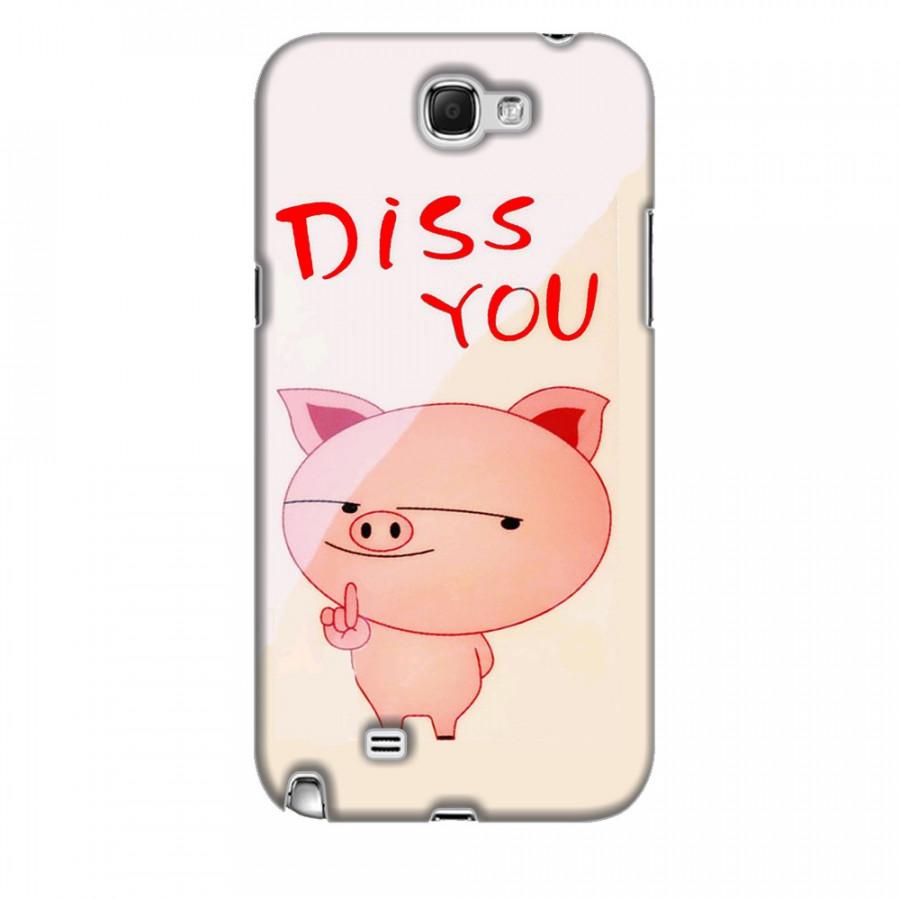 Ốp Lưng  Samsung Galaxy Note 2 Pig Cute