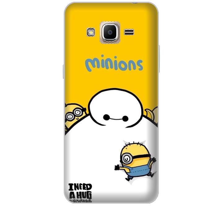 Ốp lưng dành cho điện thoại  SAMSUNG GALAXY J2 PRIME hinh Big Hero Minions