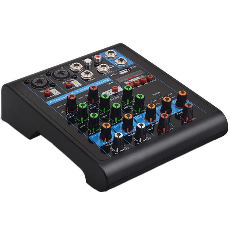 Mixer Karaoke Bluetooth Hiệu Ứng Reverb 4 Kênh Chuyên Nghiệp - 16167491 , 9593661073977 , 62_22499486 , 1195500 , Mixer-Karaoke-Bluetooth-Hieu-Ung-Reverb-4-Kenh-Chuyen-Nghiep-62_22499486 , tiki.vn , Mixer Karaoke Bluetooth Hiệu Ứng Reverb 4 Kênh Chuyên Nghiệp