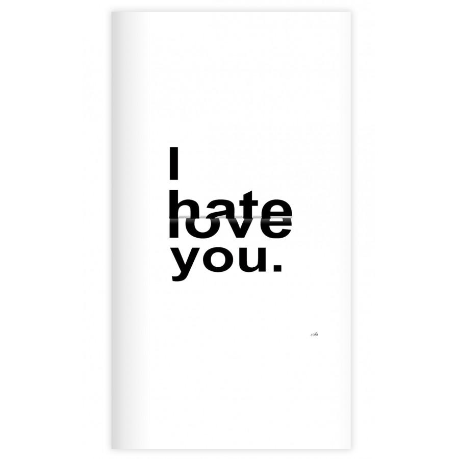 Sổ tay planner Bìa i hate love you  kích thước 21x11 60 trang bìa cứng in hình bullet journal, nhật ký, todo list, checklist - 18547835 , 6544610946029 , 62_31196998 , 69000 , So-tay-planner-Bia-i-hate-love-you-kich-thuoc-21x11-60-trang-bia-cung-in-hinh-bullet-journal-nhat-ky-todo-list-checklist-62_31196998 , tiki.vn , Sổ tay planner Bìa i hate love you  kích thước 21x11 60