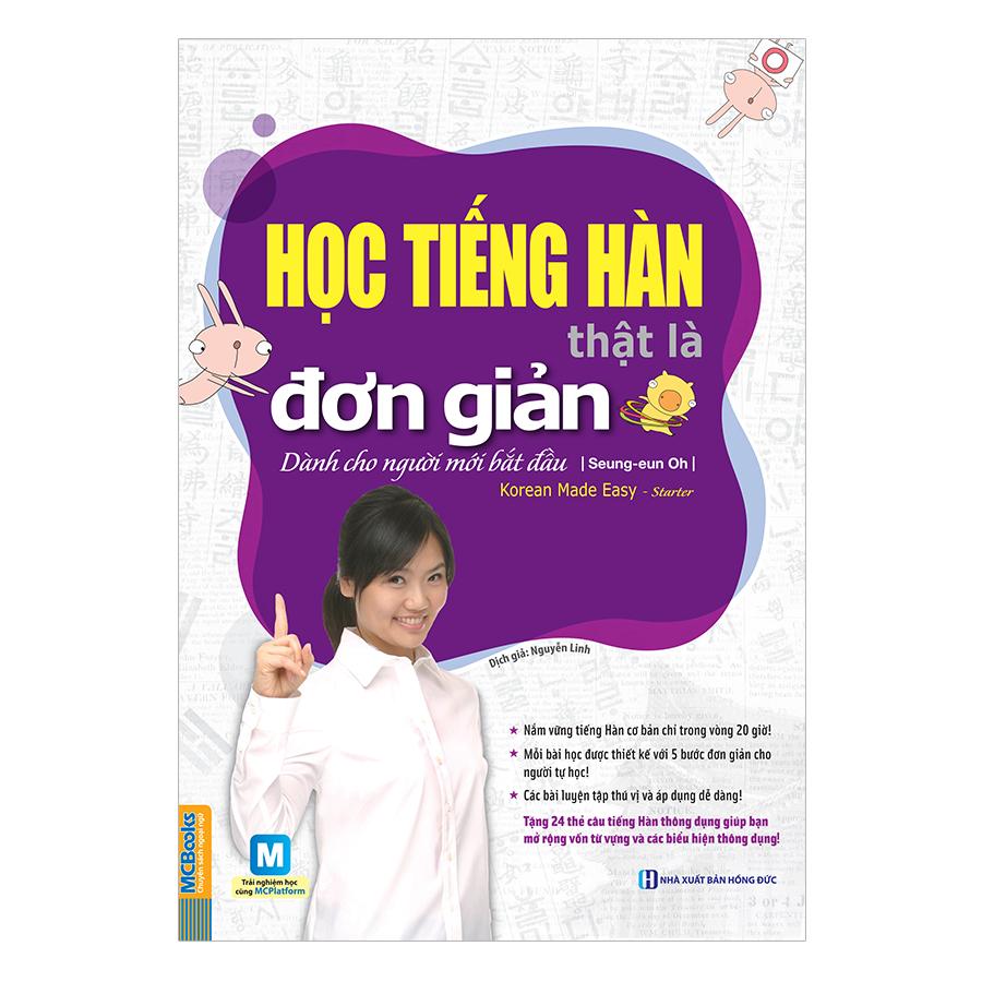 Học Tiếng Hàn Thật Là Đơn Giản - Dành Cho Người Mới Bắt Đầu - 924724 , 3818784701597 , 62_7255771 , 150000 , Hoc-Tieng-Han-That-La-Don-Gian-Danh-Cho-Nguoi-Moi-Bat-Dau-62_7255771 , tiki.vn , Học Tiếng Hàn Thật Là Đơn Giản - Dành Cho Người Mới Bắt Đầu