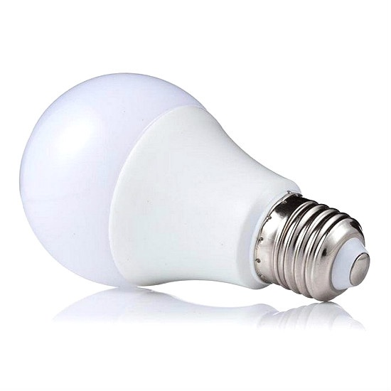 Bóng búp led tròn đui xoáy 7W E27 CSC01-701 ánh sáng trắng