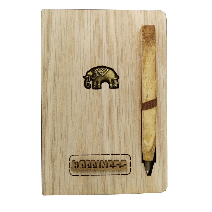 Sổ tay gỗ Charm nhỏ