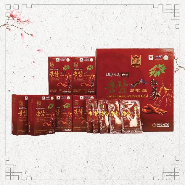 Nước Uống Hồng Sâm -Red Ginseng Primium Gold