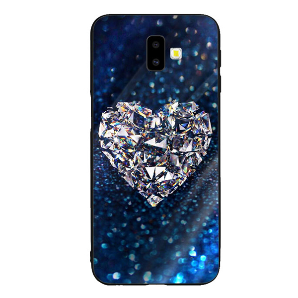 Ốp Lưng Kính Cường Lực cho điện thoại Samsung Galaxy J6 Plus - Heart 11