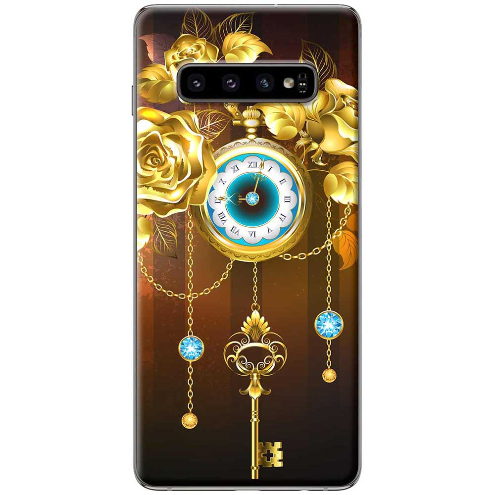 Ốp lưng  dành cho Samsung Galaxy S10 mẫu Chìa khóa thời gian
