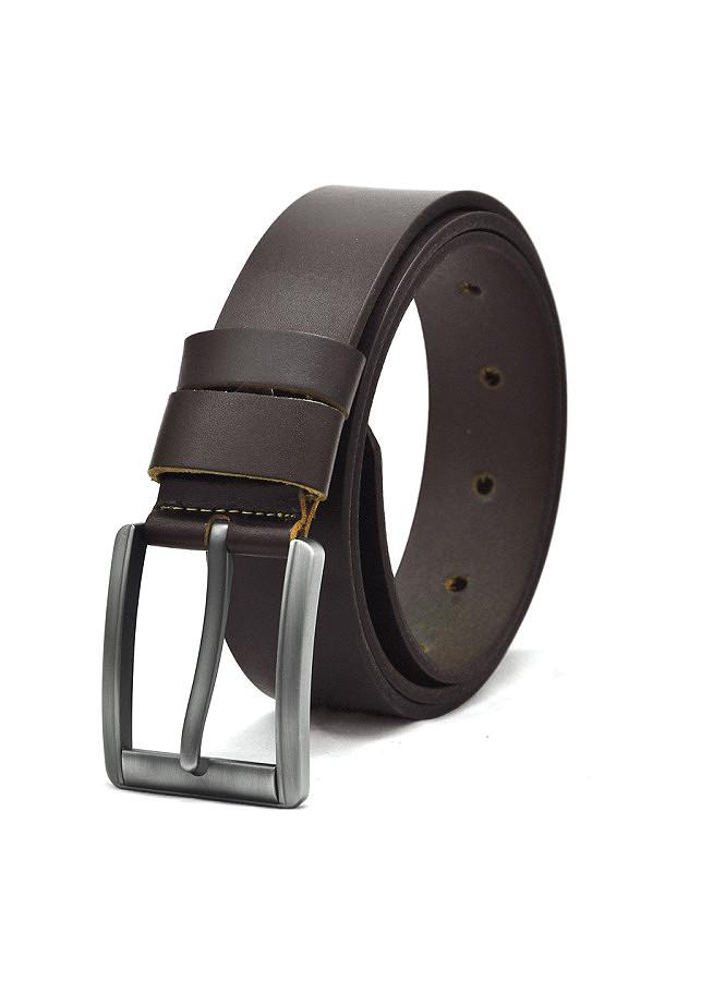 Thắt lưng da bò nam AT Leather Premium PK3 - Nâu