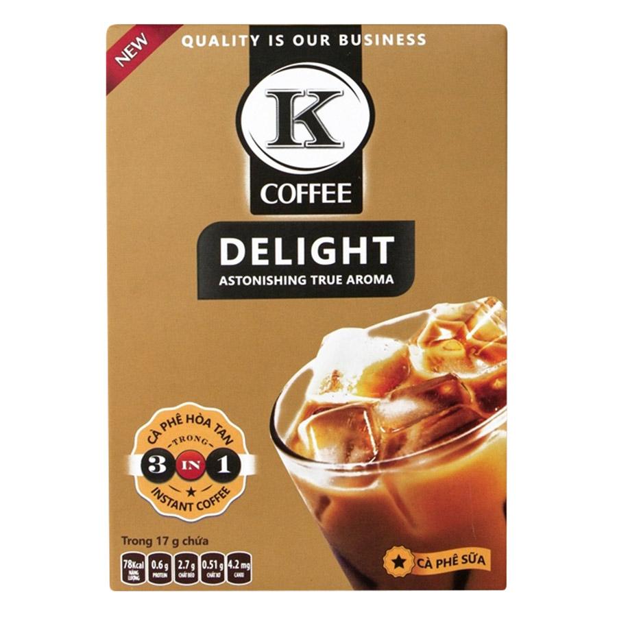 Cà Phê Hòa Tan K-Coffee Delight 3in1 (85g / Hộp)