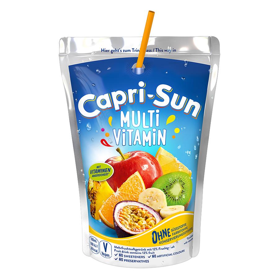 Nước Trái Cây Capri Sun Vị Multivitamin (200ml)