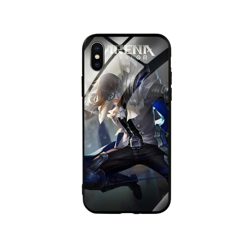 Ốp lưng kính cường lực cho điện thoại Iphone X / Xs - Game 31