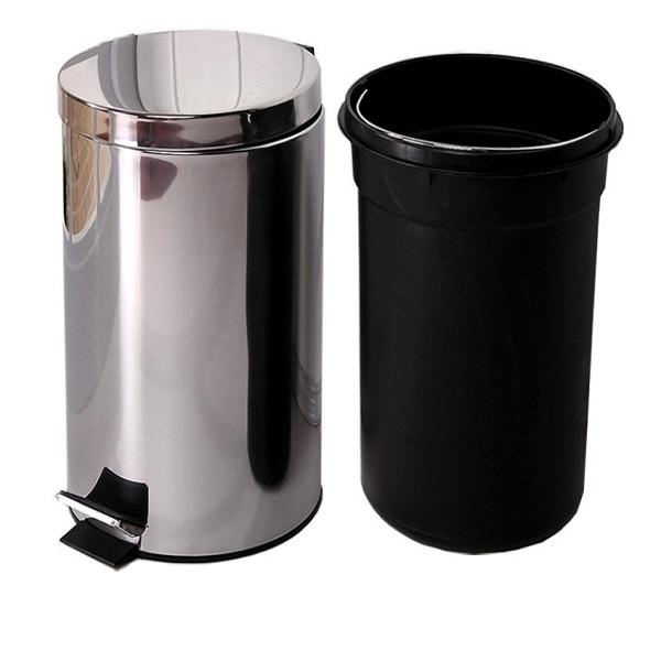 Thùng rác inox đạp chân 20L - 18356173 , 1846530062335 , 62_21082837 , 750000 , Thung-rac-inox-dap-chan-20L-62_21082837 , tiki.vn , Thùng rác inox đạp chân 20L