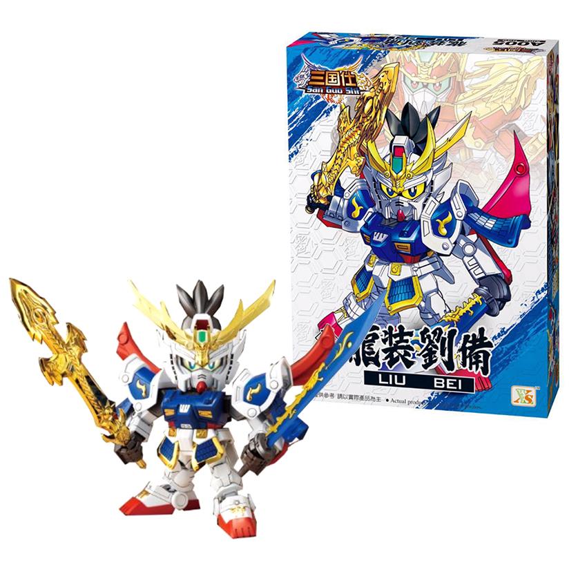 Lắp ghép, Xếp hình Gundam Lưu Hoàng Thúc - Đồ chơi Robot Tam Quốc Liu Bei A005 - 1757629 , 5222558512322 , 62_12367685 , 199000 , Lap-ghep-Xep-hinh-Gundam-Luu-Hoang-Thuc-Do-choi-Robot-Tam-Quoc-Liu-Bei-A005-62_12367685 , tiki.vn , Lắp ghép, Xếp hình Gundam Lưu Hoàng Thúc - Đồ chơi Robot Tam Quốc Liu Bei A005