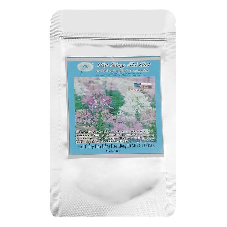 Hạt Giống Hoa Hồng Ri Mix CLEOME 50h - 811644 , 6874651049381 , 62_14678607 , 30750 , Hat-Giong-Hoa-Hong-Ri-Mix-CLEOME-50h-62_14678607 , tiki.vn , Hạt Giống Hoa Hồng Ri Mix CLEOME 50h