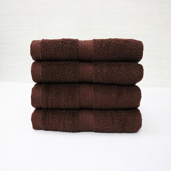 Khăn quấn tóc, khăn mặt SPA - 34x80 cm - màu nâu socola