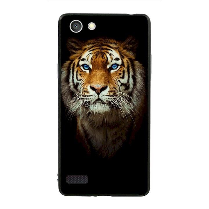 Ốp lưng viền TPU cho dành cho Oppo Neo 7 - Tiger 04
