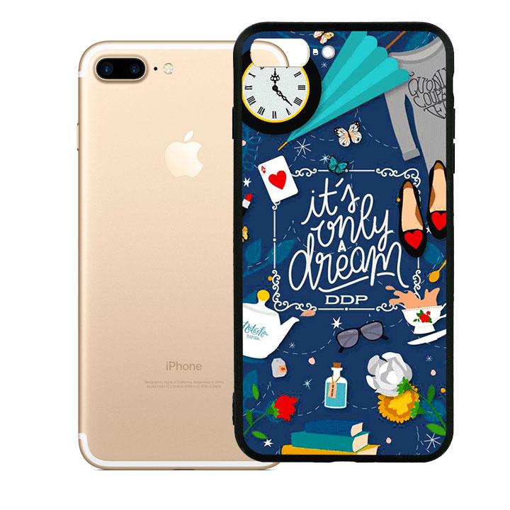 Ốp lưng viền dành cho TPU cao cấp cho Iphone 7 Plus - Dream Girl 02