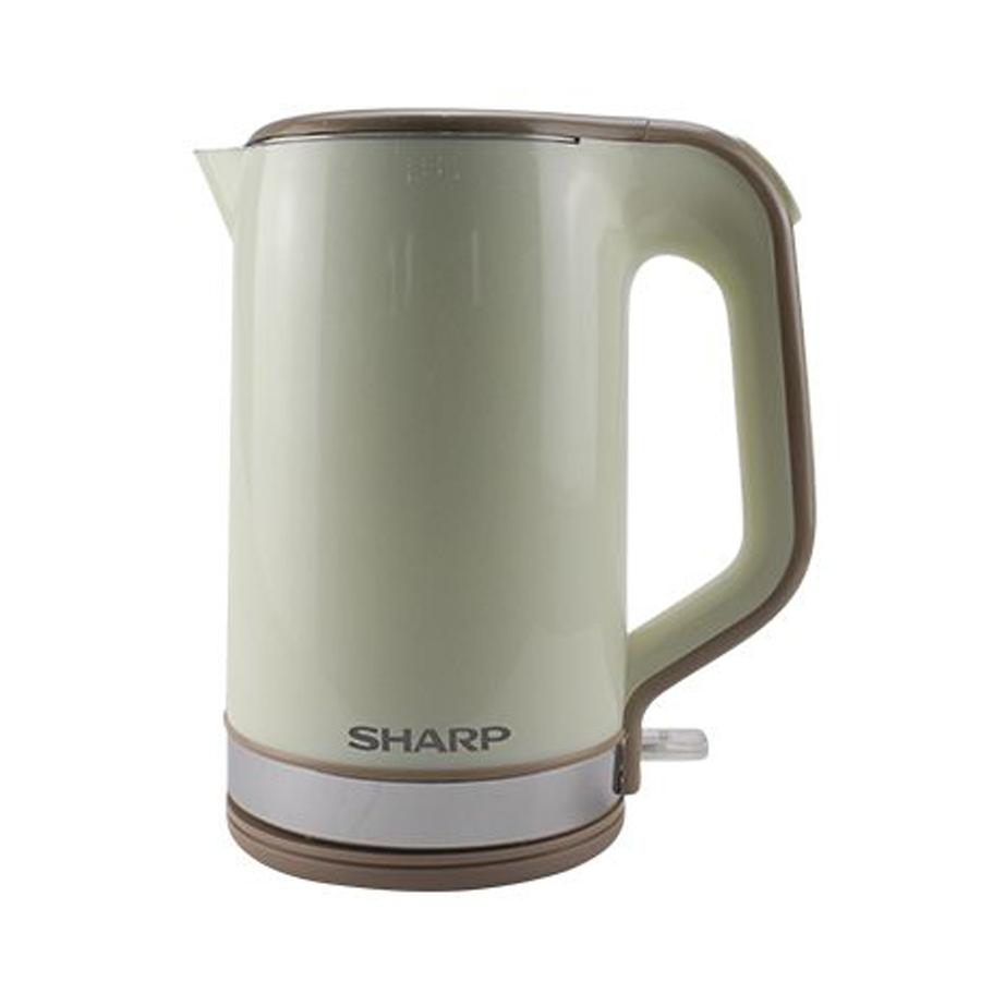 Bình Đun Siêu Tốc Sharp EKJ-18VPBG – Xanh Xám (1.8L) - 1095939 , 1906784204766 , 62_11612129 , 600000 , Binh-Dun-Sieu-Toc-Sharp-EKJ-18VPBG-Xanh-Xam-1.8L-62_11612129 , tiki.vn , Bình Đun Siêu Tốc Sharp EKJ-18VPBG – Xanh Xám (1.8L)