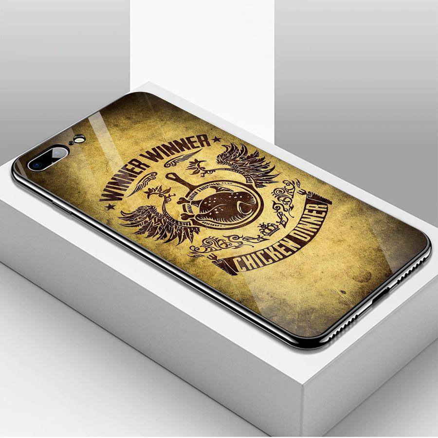 Ốp kính cường lực dành cho điện thoại iPhone 7/8 Plus - PUBG mobile - pubg015