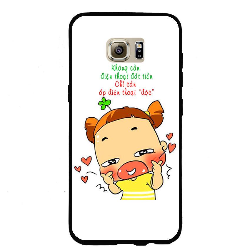 Ốp lưng viền TPU cho điện thoại Samsung Galaxy S7 Edge - Qak