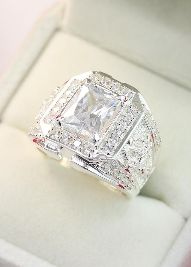 Nhẫn bạc nam hình rồng NNA0090 - 1957368 , 9720214118575 , 62_14347786 , 650000 , Nhan-bac-nam-hinh-rong-NNA0090-62_14347786 , tiki.vn , Nhẫn bạc nam hình rồng NNA0090