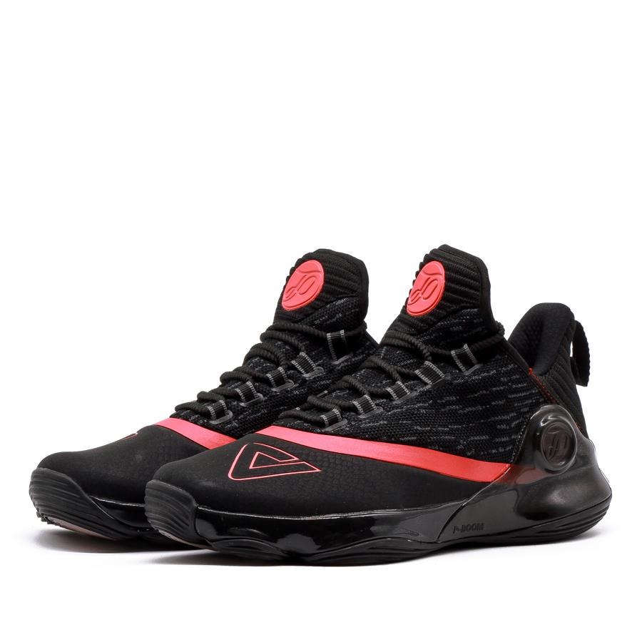 Giày bóng rổ PEAK Tony Parker VI E83323A - Đen Đỏ