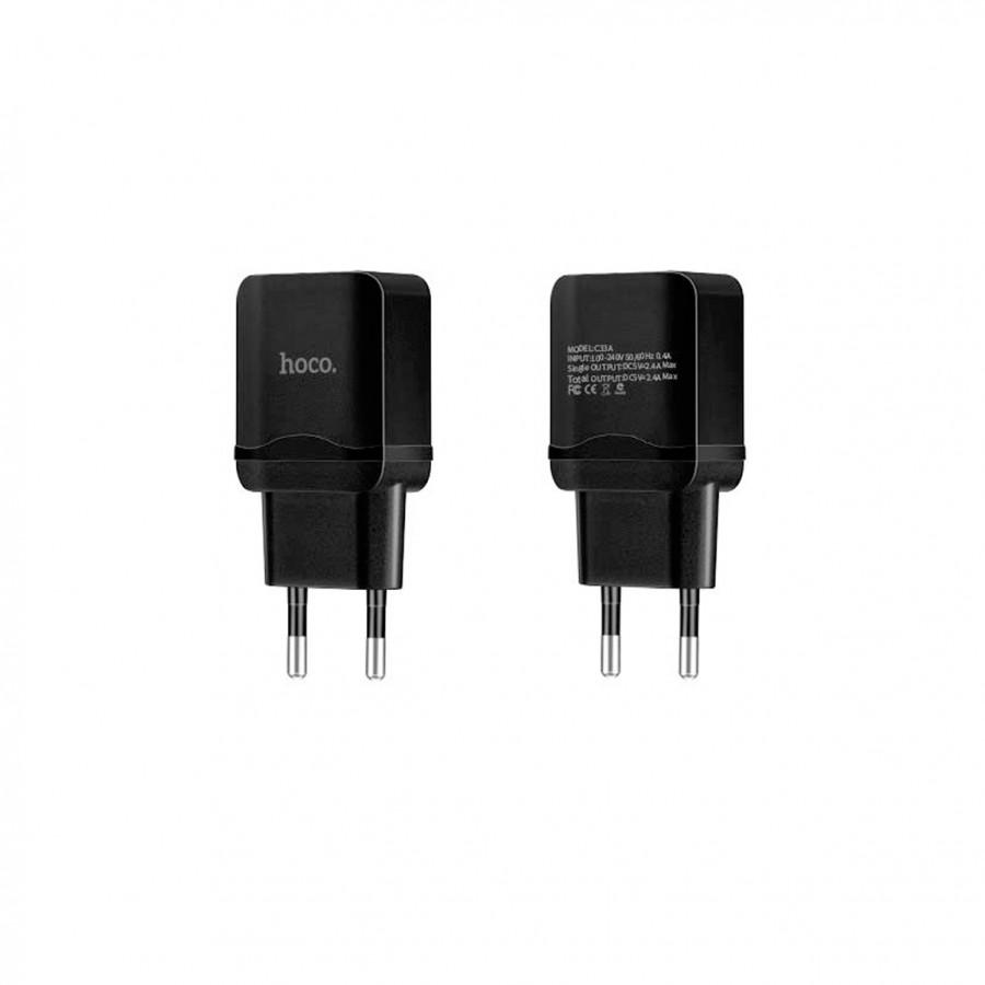 Củ Sạc Hoco C33A 2 Cổng USB - Chính Hãng