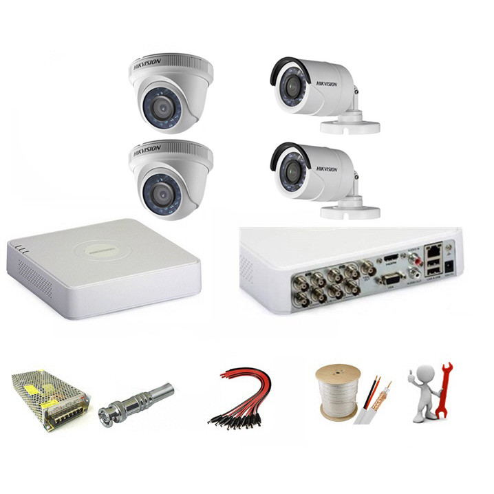 Trọn bộ 4 camera Hikvision 2.0 Megapixel - Hàng chính hãng - 18699235 , 5711121492807 , 62_26025877 , 4190000 , Tron-bo-4-camera-Hikvision-2.0-Megapixel-Hang-chinh-hang-62_26025877 , tiki.vn , Trọn bộ 4 camera Hikvision 2.0 Megapixel - Hàng chính hãng