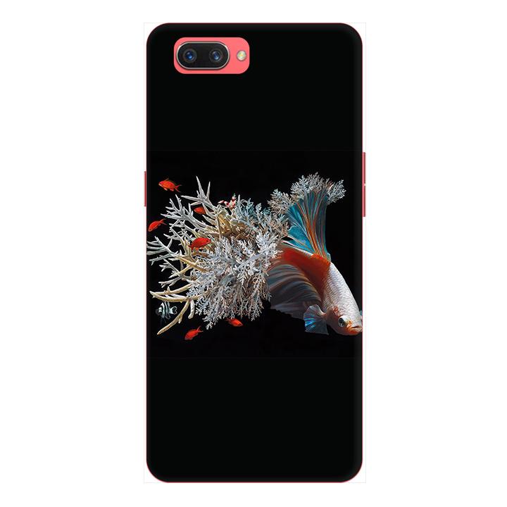 Ốp lưng điện thoại Realme C1 hình Cá Betta Mẫu 2