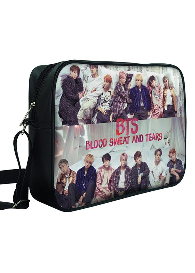 Túi Đeo Chéo Hộp Unisex In Hình BTS -Blood Sweat And Tears - TCKP519