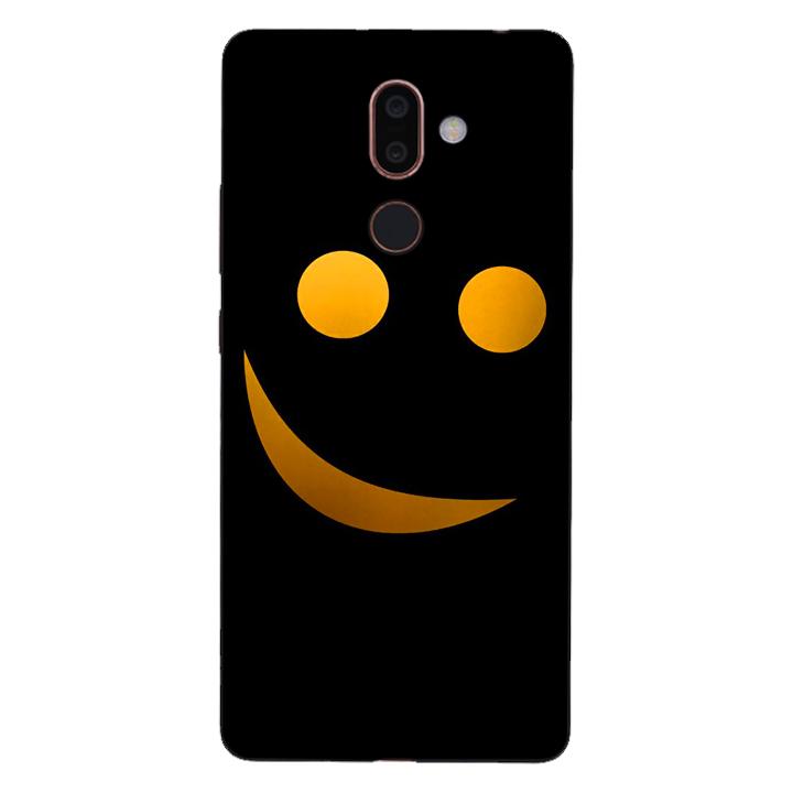 Ốp lưng dẻo cho điện thoại Nokia 7 Plus_Smile 03