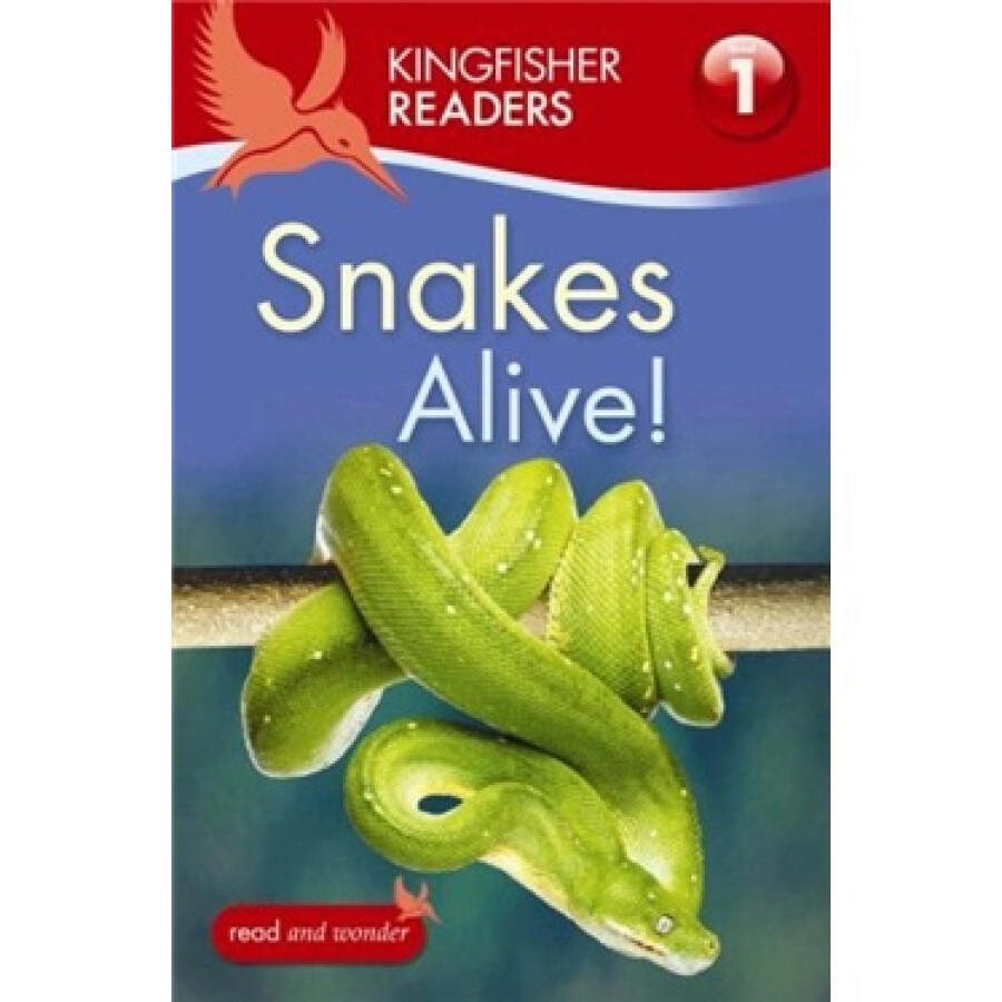 Kingfisher Readers: Snakes Alive! (Level 1: Beginning to Read) - 1223522 , 8032546471350 , 62_5228015 , 153000 , Kingfisher-Readers-Snakes-Alive-Level-1-Beginning-to-Read-62_5228015 , tiki.vn , Kingfisher Readers: Snakes Alive! (Level 1: Beginning to Read)