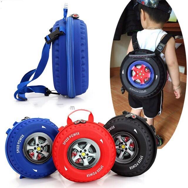 Balo bánh xe học sinh phong cách