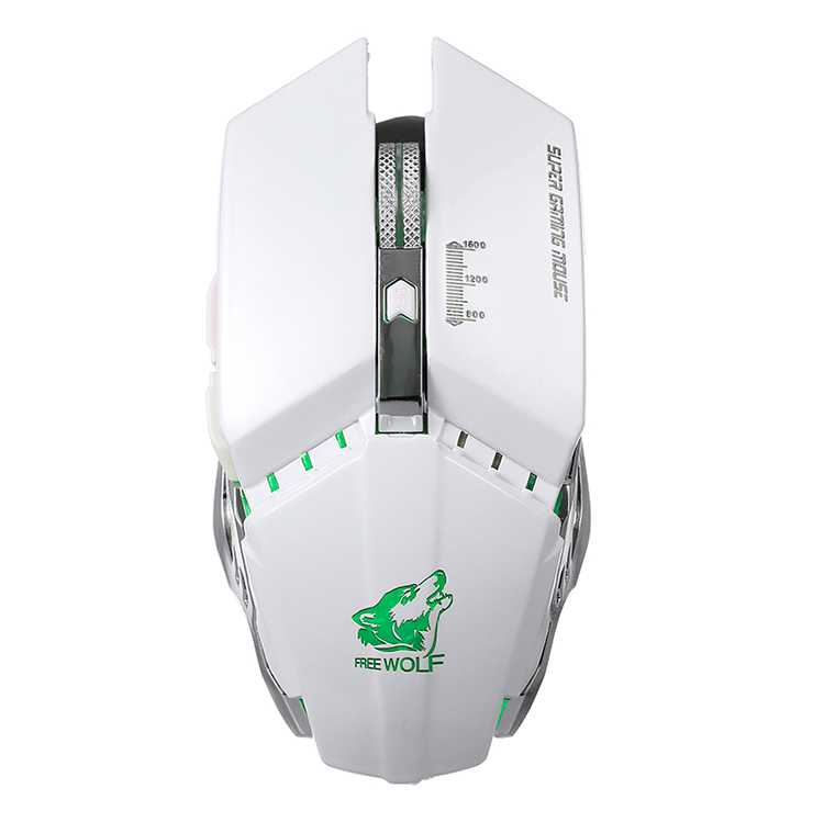 Free Wolf Wireless Gaming Mouse With 1600Dpi Adjustable Dpi 2.4G Wireless Transmission Silent Click Mechanical Gaming - 2362186 , 9930660333396 , 62_15422010 , 377000 , Free-Wolf-Wireless-Gaming-Mouse-With-1600Dpi-Adjustable-Dpi-2.4G-Wireless-Transmission-Silent-Click-Mechanical-Gaming-62_15422010 , tiki.vn , Free Wolf Wireless Gaming Mouse With 1600Dpi Adjustable Dpi