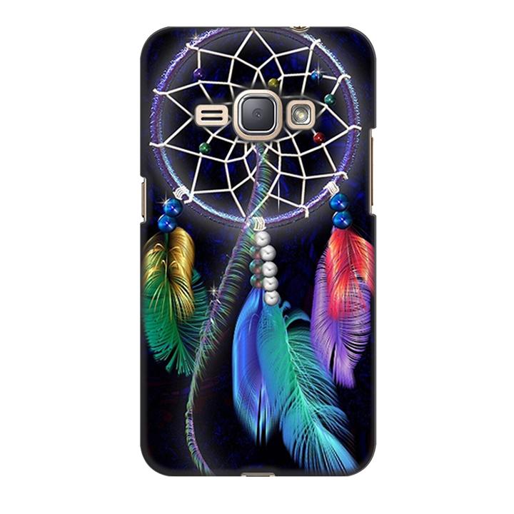 Ốp lưng nhựa cứng nhám dành cho Samsung Galaxy J1 2016 in hình Dream Catcher