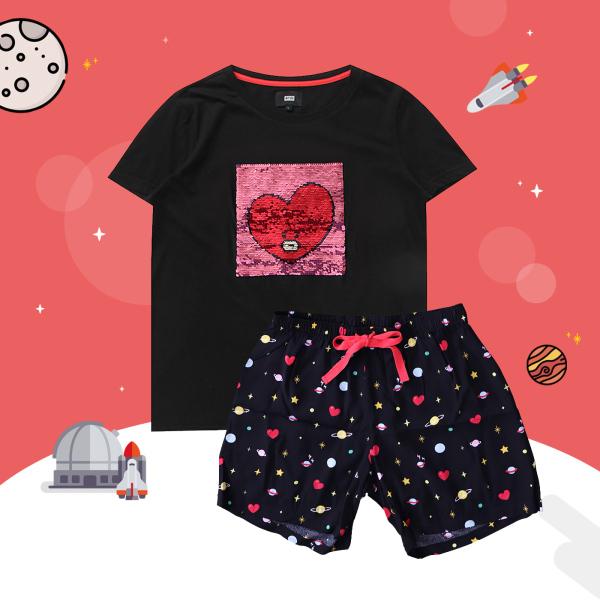 BT21 x HUNT Spangle Pajama Set Tata HILO91101T - 2325316 , 7606786343602 , 62_14994632 , 1563000 , BT21-x-HUNT-Spangle-Pajama-Set-Tata-HILO91101T-62_14994632 , tiki.vn , BT21 x HUNT Spangle Pajama Set Tata HILO91101T