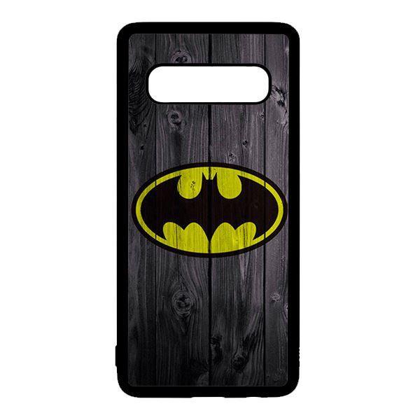 Ốp lưng điện thoại dành cho Samsung S10  Batman Nền Gỗ