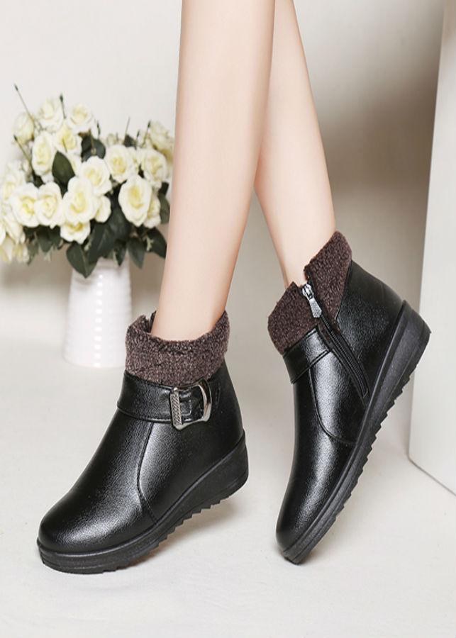 Giày Boots Da Cao Cấp - 1063034 , 5232744902820 , 62_6536067 , 458000 , Giay-Boots-Da-Cao-Cap-62_6536067 , tiki.vn , Giày Boots Da Cao Cấp