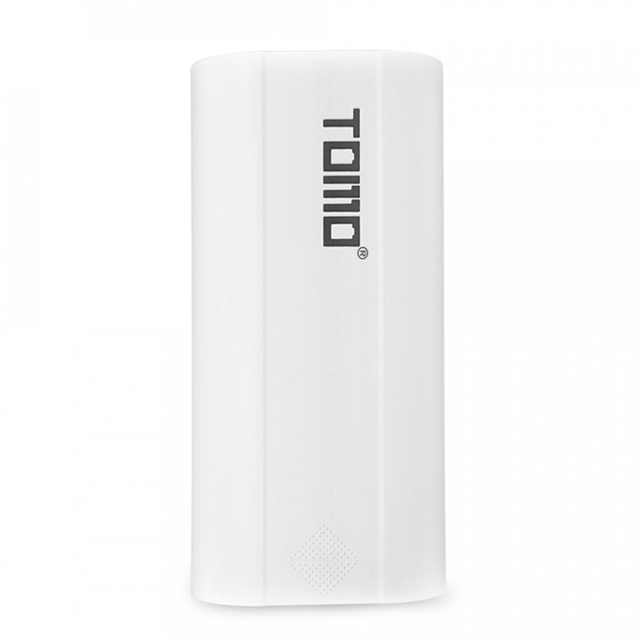 TOMO M2 Battery Charger 2*18650 Power Bank External USB Charger with Intelligent LCD Display for iPhone X Samsung S8